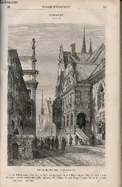 LE MAGASIN PITTORESQUE - Livraison n°016 - Halberstadt.