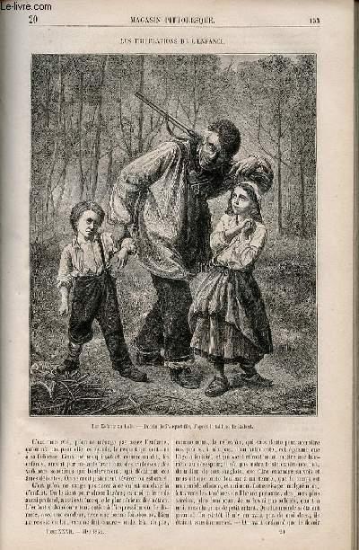 LE MAGASIN PITTORESQUE - Livraison n°020 - Les tribulations de l'enfance.