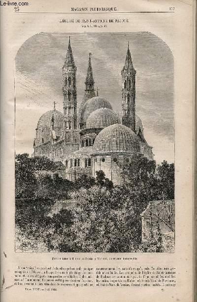 LE MAGASIN PITTORESQUE - Livraison n°023 - L'église de Saint Antoine de Padoue.