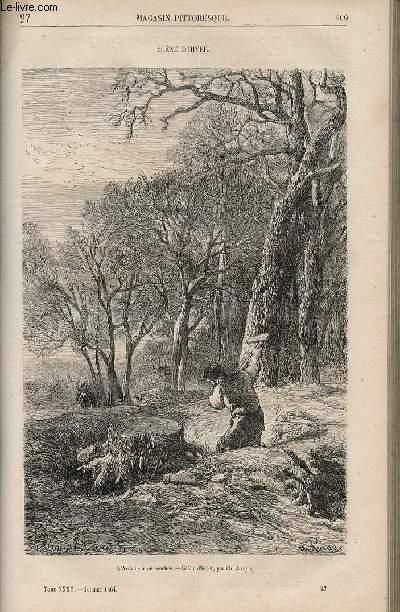 LE MAGASIN PITTORESQUE - Livraison n°027 - Scène d'hiveR.