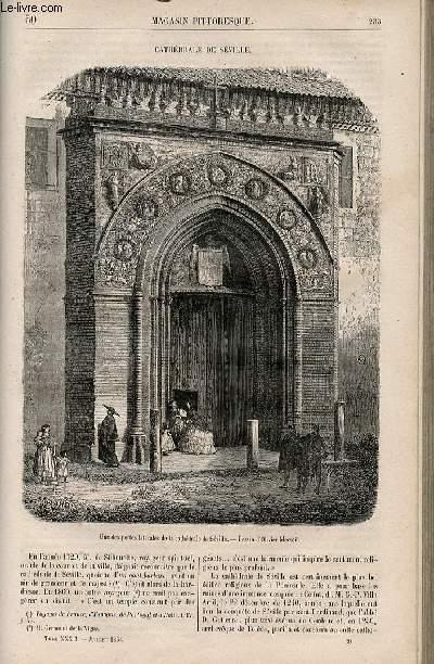 LE MAGASIN PITTORESQUE - Livraison n°030 - Cathédrâle de Séville.