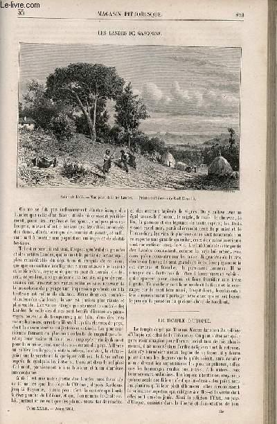 LE MAGASIN PITTORESQUE - Livraison n°035 - Les landes de Gascogne.