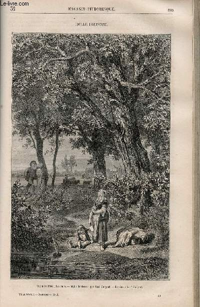 LE MAGASIN PITTORESQUE - Livraison n°039 - Idylle bretonne.