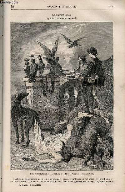 LE MAGASIN PITTORESQUE - Livraison n°040 - La fauconnerie.