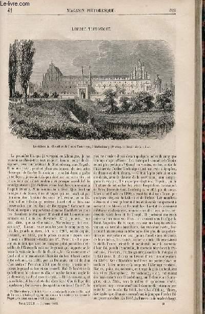 LE MAGASIN PITTORESQUE - Livraison n°041 -  L'ordre teutonique.