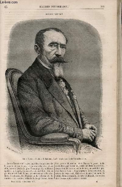 LE MAGASIN PITTORESQUE - Livraison n°045 - Horace Vernet.,à suivre.