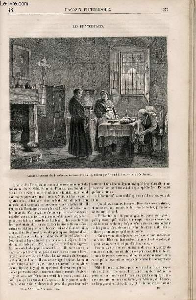LE MAGASIN PITTORESQUE - Livraison n°048 - Les Franciscains.