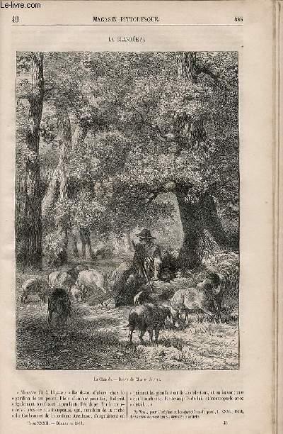 LE MAGASIN PITTORESQUE - Livraison n°049 - La glandée.