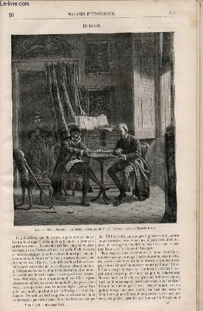 LE MAGASIN PITTORESQUE - Livraison n°050 - Le loisir.