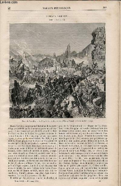 LE MAGASIN PITTORESQUE - Livraison n°051 - Horace Vernet, suite.