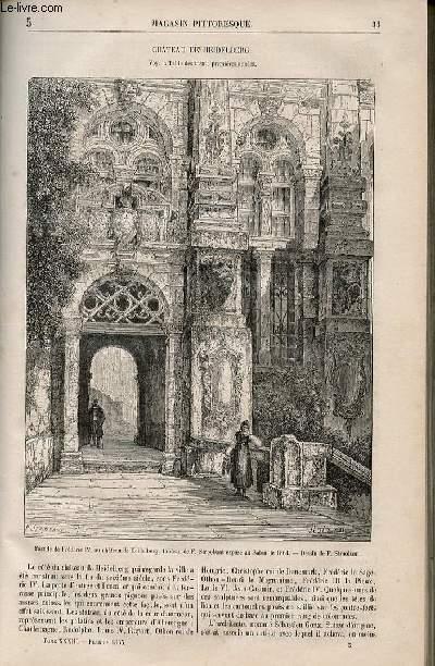 LE MAGASIN PITTORESQUE - Livraison n°005 - Château de Heidelberg.