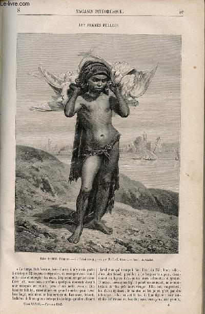 LE MAGASIN PITTORESQUE - Livraison n°008 - Les femmes fellahs.