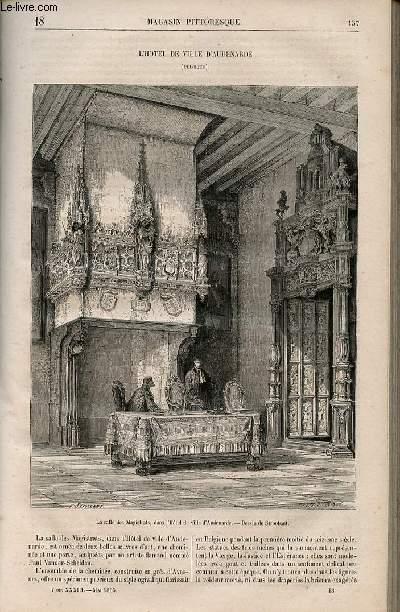 LE MAGASIN PITTORESQUE - Livraison n°018 - L'hôtel de ville d'Audenarde (Belgique).