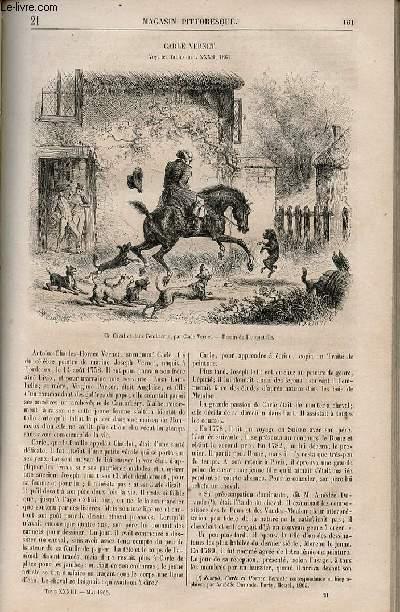 LE MAGASIN PITTORESQUE - Livraison n°021 - Carle vernet.