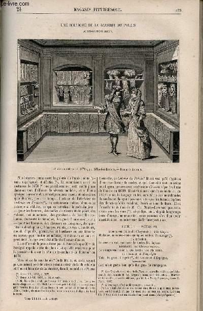 LE MAGASIN PITTORESQUE - Livraison n°024 - Une boutique de la galerie du palais au 17ème siècle.