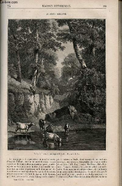 LE MAGASIN PITTORESQUE - Livraison n°025 - Auguste Rolland.