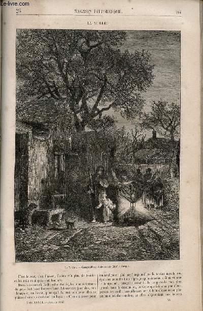 LE MAGASIN PITTORESQUE - Livraison n°026 - La veillée.