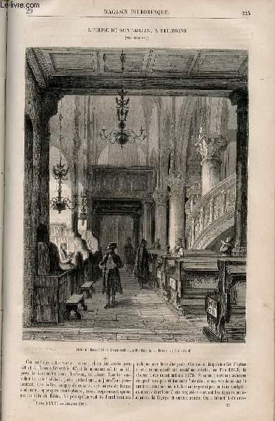 LE MAGASIN PITTORESQUE - Livraison n°029 - L'église de Saint Kilian  à Heilbronn (Wurtemberg).