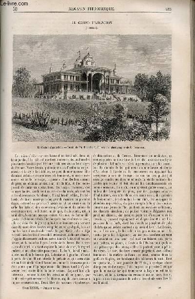 LE MAGASIN PITTORESQUE - Livraison n°030 - Le casino d'Arcachon.