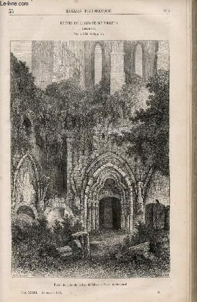 LE MAGASIN PITTORESQUE - Livraison n°035 - Ruines de l'abbaye de Villers (Belgique).