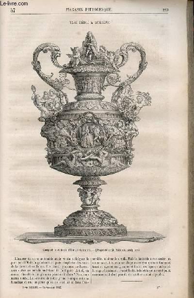 LE MAGASIN PITTORESQUE - Livraison n°037 - Vase dédié à Molière.
