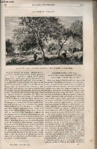 LE MAGASIN PITTORESQUE - Livraison n°039 - L'automne en Normandie.
