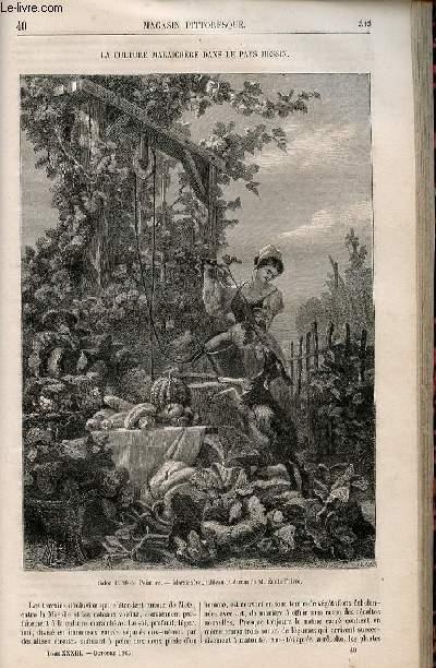 LE MAGASIN PITTORESQUE - Livraison n°040 - La culture maraichère dans le pays messin.