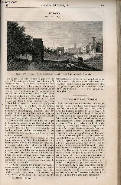 LE MAGASIN PITTORESQUE - Livraison n°041 - Le forum.