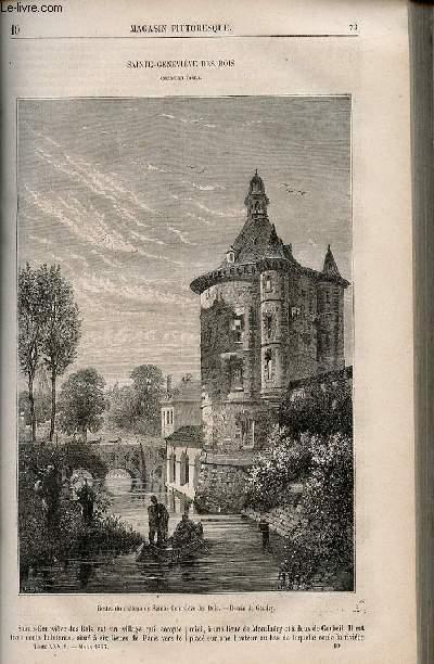 LE MAGASIN PITTORESQUE - Livraison n°010 - Sainte Geneviève des Bois ( Seine et Oise).