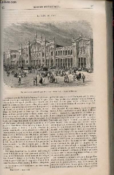 LE MAGASIN PITTORESQUE - Livraison n°013 - La gare du Nord.