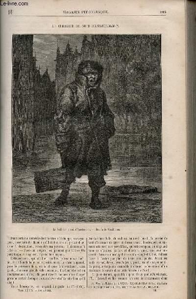 LE MAGASIN PITTORESQUE - Livraison n°014 - Le veilleur de nuit d'Amsterdam,à suivre.