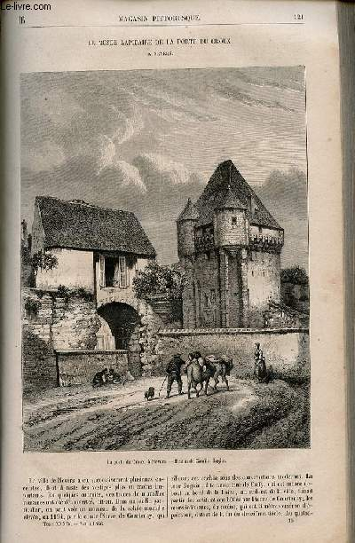 LE MAGASIN PITTORESQUE - Livraison n°016 - Le musée lapidaire de la porte du Croux à Nevers.