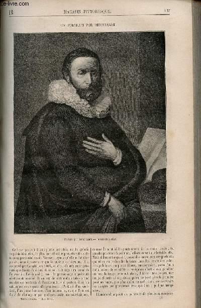 LE MAGASIN PITTORESQUE - Livraison n°018 - Un portrait par Rembrandt.