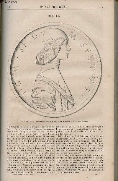 LE MAGASIN PITTORESQUE - Livraison n°019 - Les sforza.