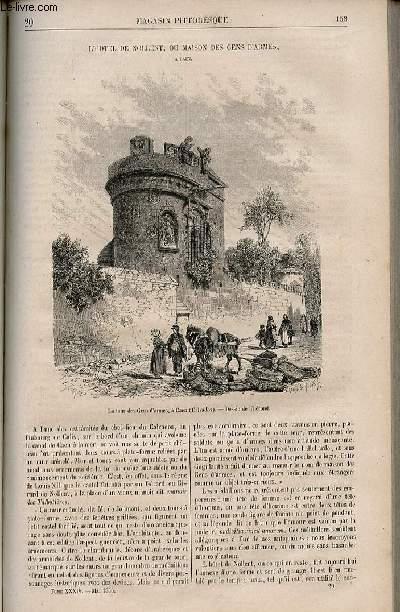 LE MAGASIN PITTORESQUE - Livraison n°020 - L'hôtel de Nollent ou maison des gens d'armes à Caen.