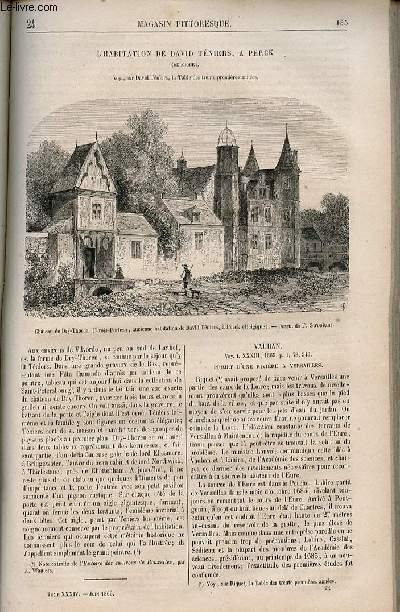 LE MAGASIN PITTORESQUE - Livraison n°024 - L'habitation de David Téniers à Perck (belgique).