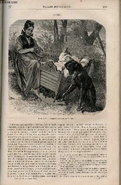 LE MAGASIN PITTORESQUE - Livraison n°027 - En été.
