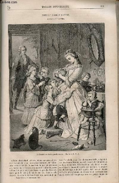 LE MAGASIN PITTORESQUE - Livraison n°035 - Peindre d'après nature, conseils de Goethe.