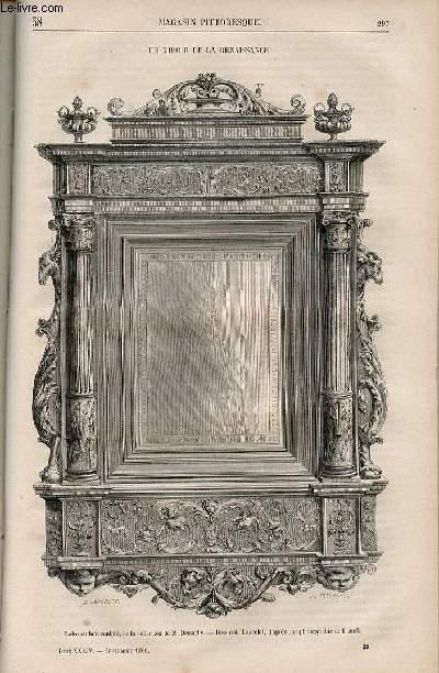 LE MAGASIN PITTORESQUE - Livraison n°038 - Un miroir de la Renaissance.