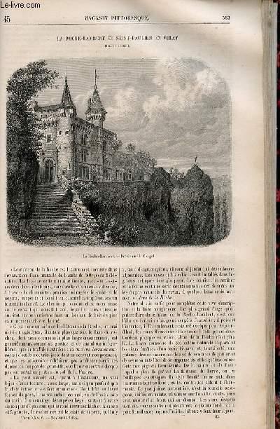 LE MAGASIN PITTORESQUE - Livraison n°045 - La Roche lambert et Saint Paulien en velay.