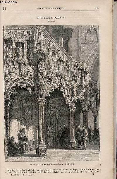 LE MAGASIN PITTORESQUE - Livraison n°051 - Notre Dame de Walcourt (belgique).