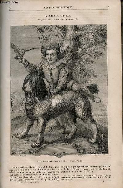 LE MAGASIN PITTORESQUE - Livraison n°003 - Le chien de Goltzius.