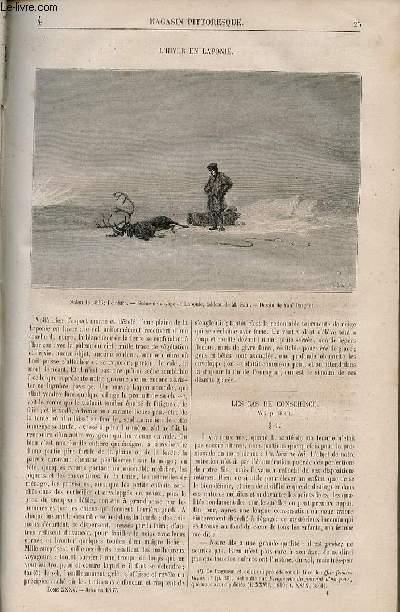 LE MAGASIN PITTORESQUE - Livraison n°004 - L'hiver en laponie.