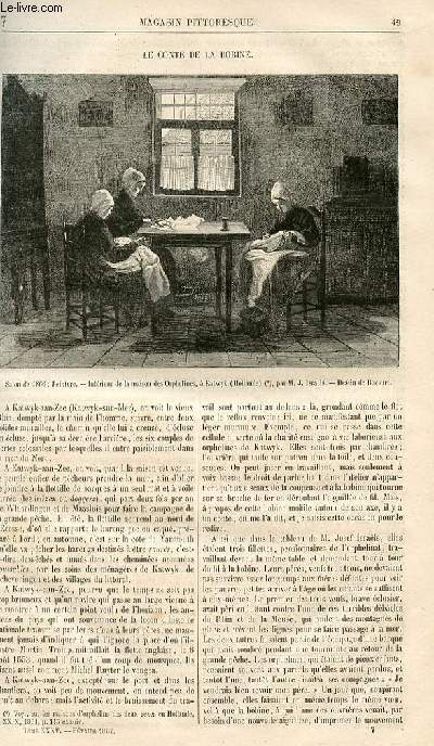 LE MAGASIN PITTORESQUE - Livraison n°007 - Le conte de la bobine.