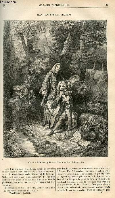 LE MAGASIN PITTORESQUE - Livraison n°018 - Jean baptiste De Julienne.