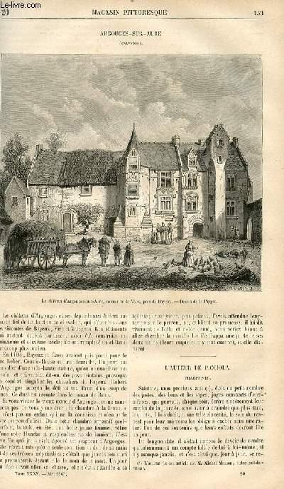 LE MAGASIN PITTORESQUE - Livraison n°020 - Argouges Sur Aure (Calvados).