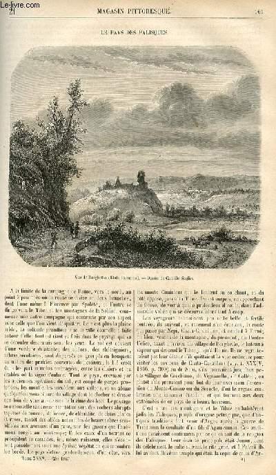 LE MAGASIN PITTORESQUE - Livraison n°021 - Le pays des falisques.