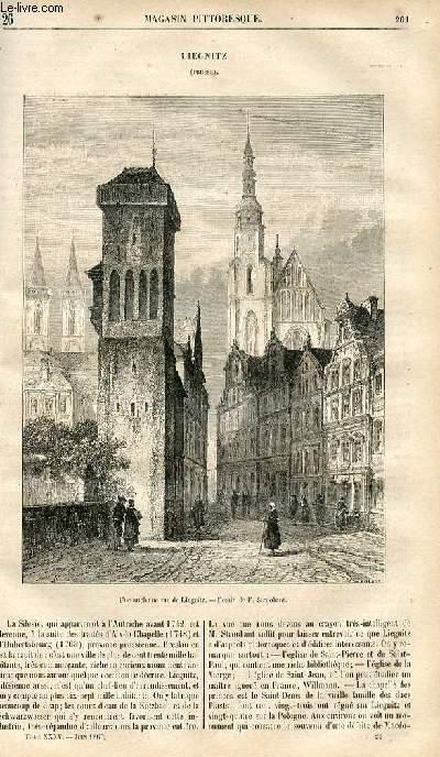 LE MAGASIN PITTORESQUE - Livraison n°026 - Liegnitz (Prusse).