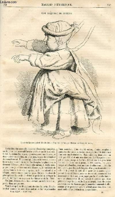 LE MAGASIN PITTORESQUE - Livraison n°033 - Une esquisse de Rubens.