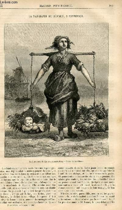 LE MAGASIN PITTORESQUE - Livraison n°044 - La marchande de légumes à Amsterdam.